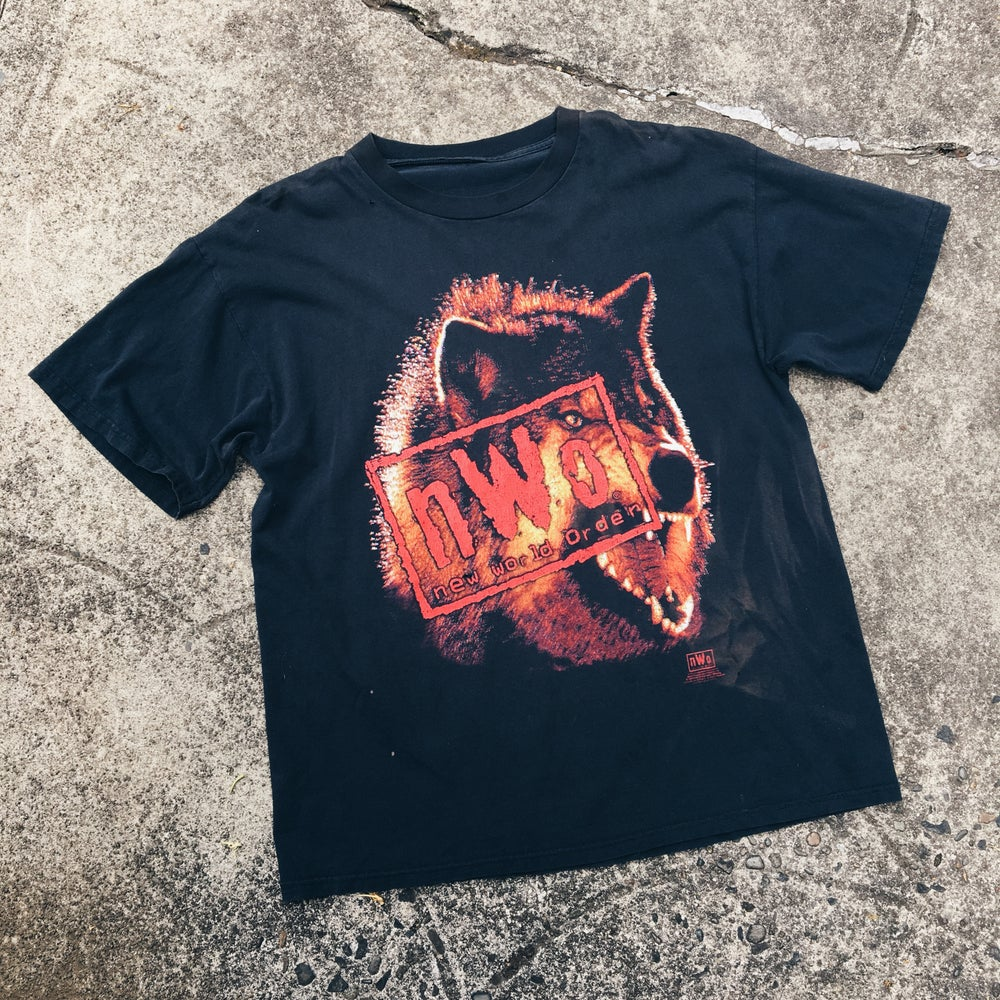 Image of Original 1998 N.W.O. Wrestling Tee.