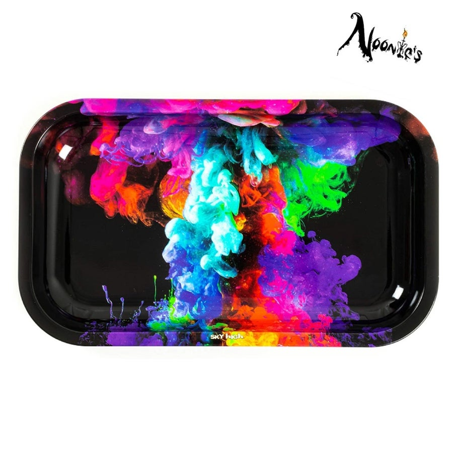 Image of Color bomb rolling tray