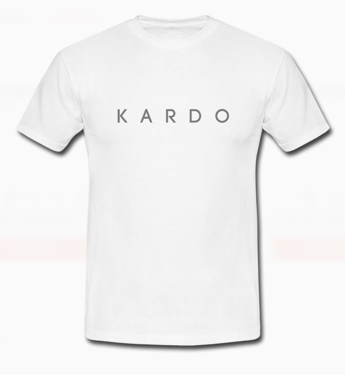 Image of KARD0 WHITE T