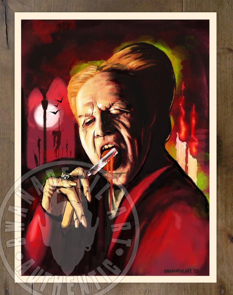 Image of Bram Stoker's Dracula Art Print  9x12 in.