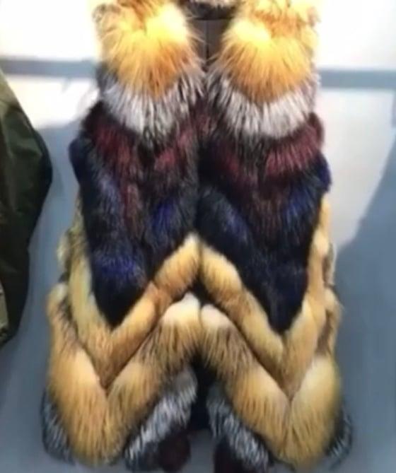 Image of Haven Fox Fur Vest