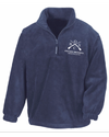 OBSC Embroidered Quaterzip Fleece