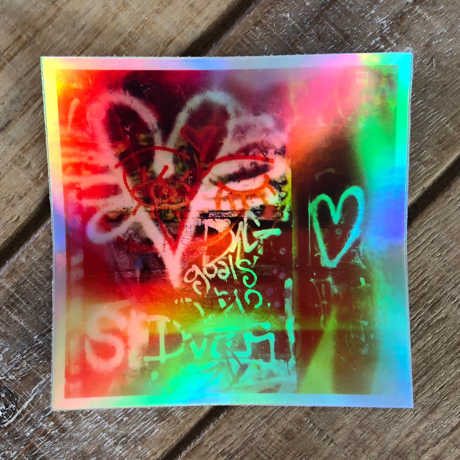 Image of Struck By Love Sticker