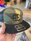 Camo trucker hat!