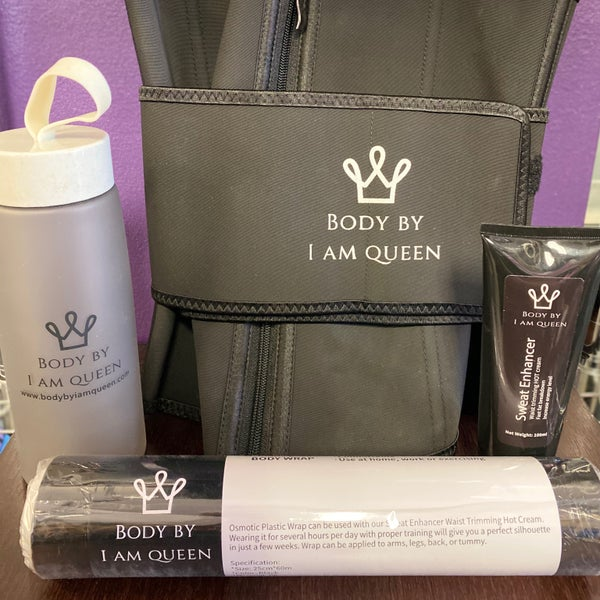 Image of Hot Slimming Cream & Wrap (together or separate)