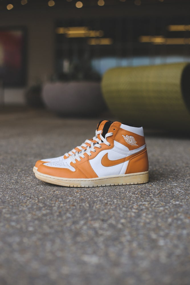 "Image of Jordan 1 ""brunt orange"""