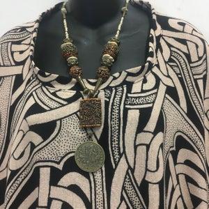 Image of Exotic, Earthy Necklace