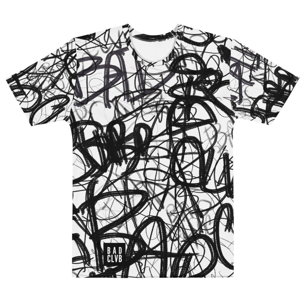 NAKID 'BAD CLVB GRAFFITI' - Men's T-Shirt