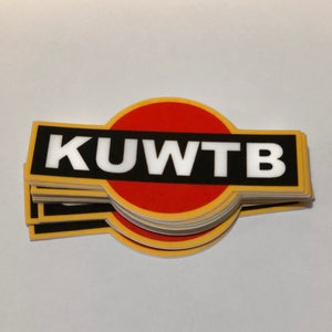 Image of KUWTB Racing Sticker Mini