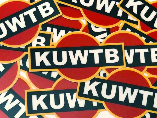 Image of KUWTB Racing Sticker Mini