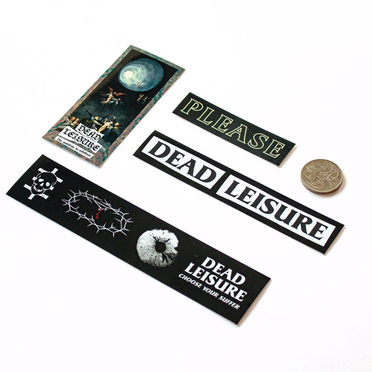 Dead Leisure Sticker Pack V3
