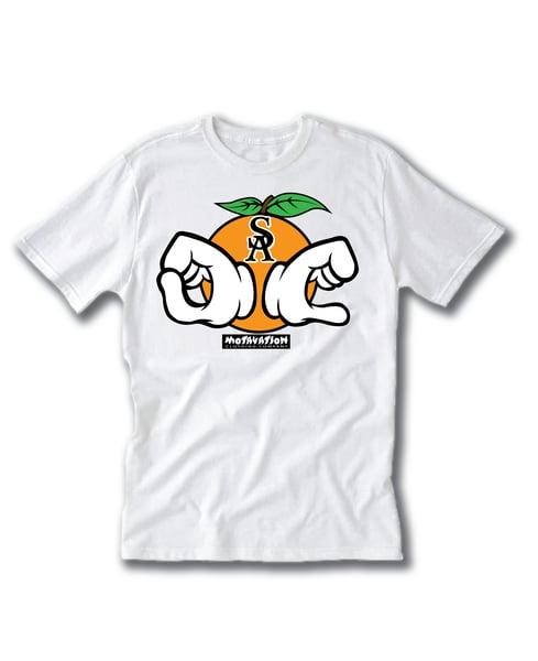 Image of Motavation OC Hands White T-Shirt