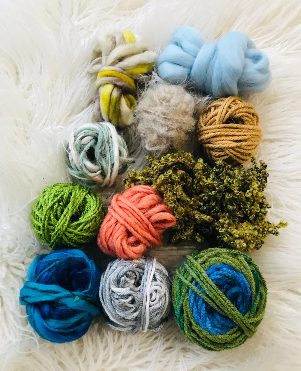 Image of Into the Blue Fibre Pack