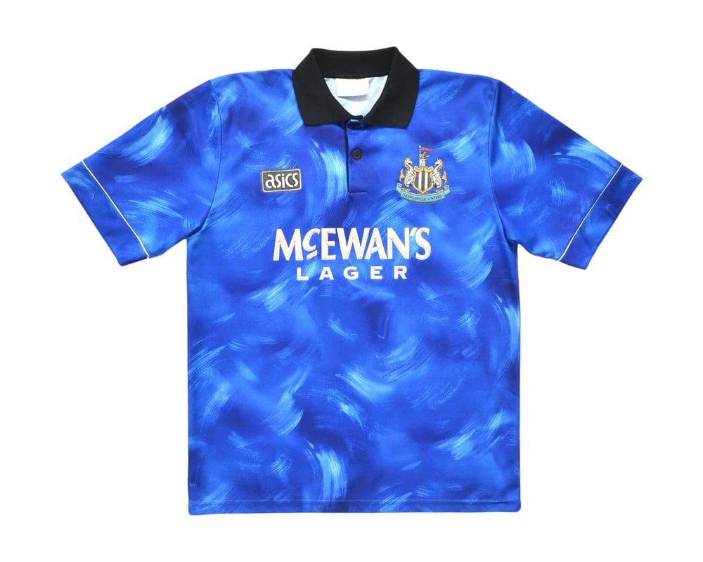Image of 1993-95 Asics Newcastle United Away Shirt M