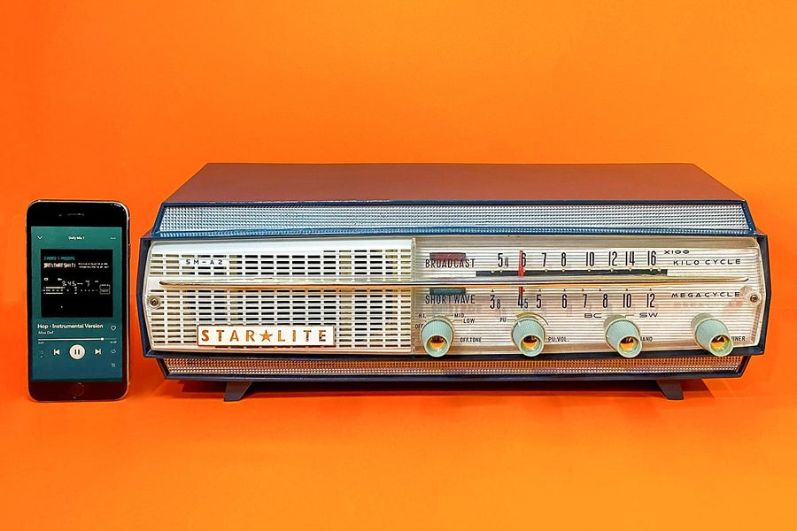 Image of STARLITE 5M-A2 (1959) RADIO VINTAGE BLUETOOTH