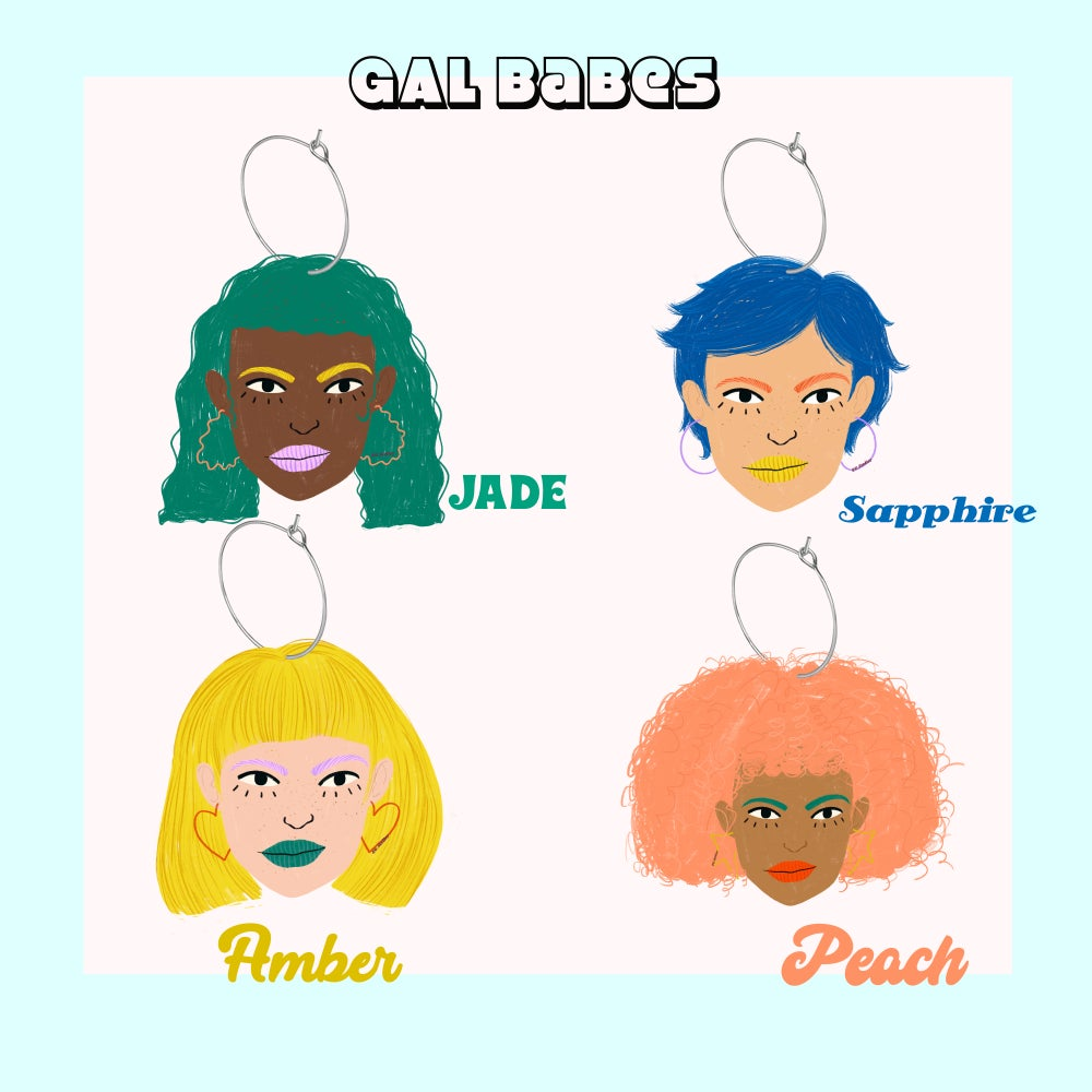 Image of GAL Babes Earrings