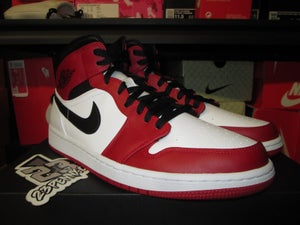 "Image of Air Jordan I (1) Retro Mid ""Chicago/White Heel"""
