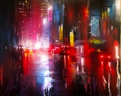Image of SOLD 'Tokyo Rains' - Original painting