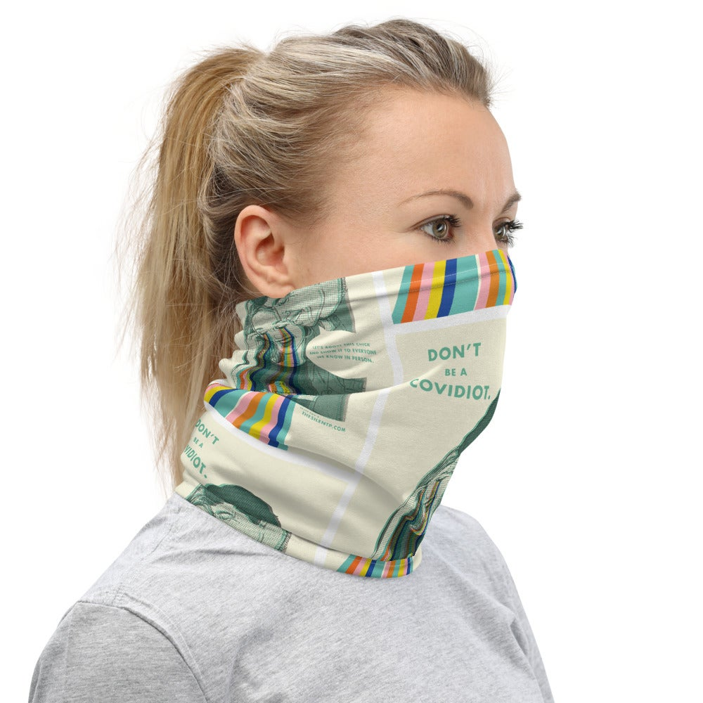 Don't Be a Covidiot Neck Gaiter