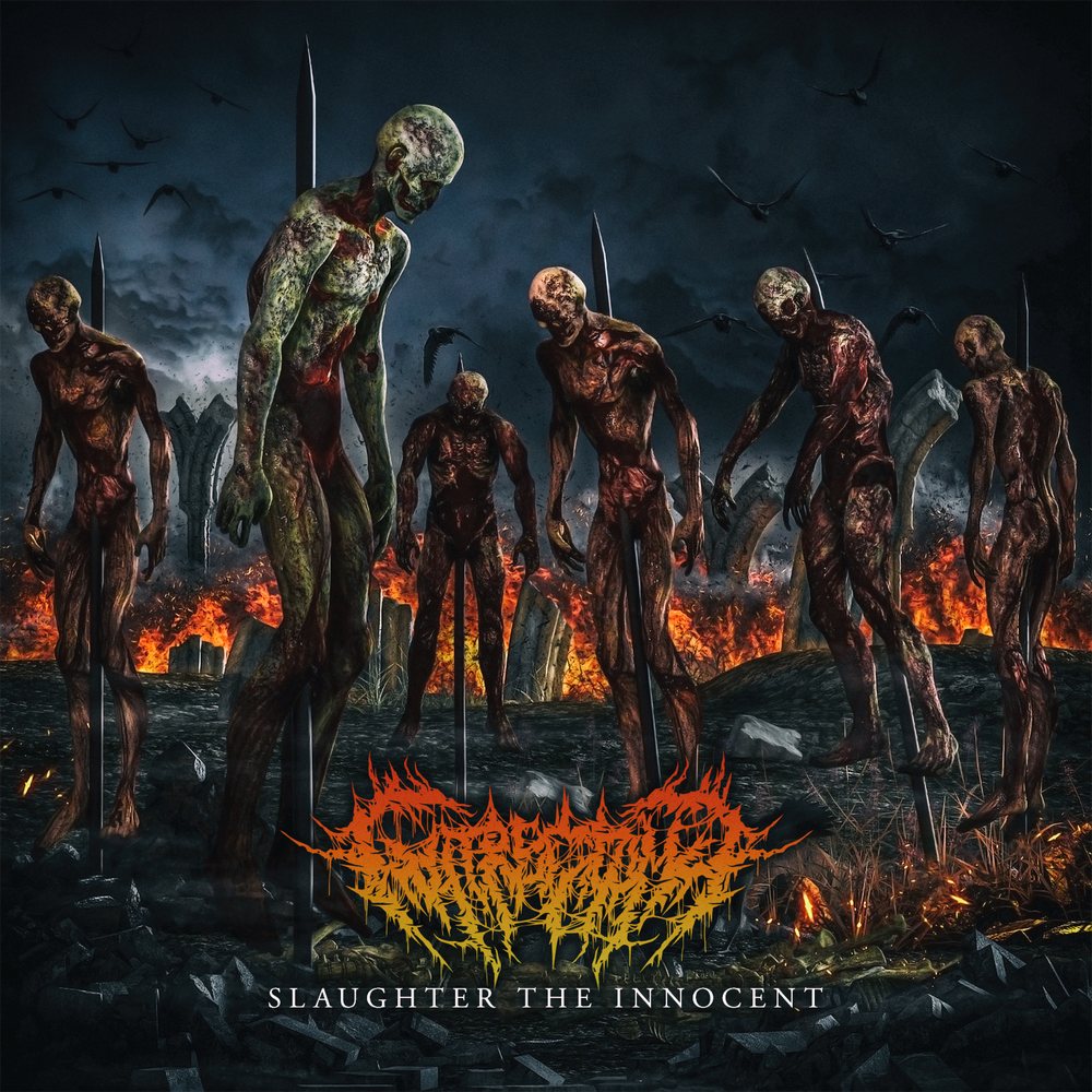 Image of GUTRECTOMY - Slaughter The Innocent CD EP pre-order