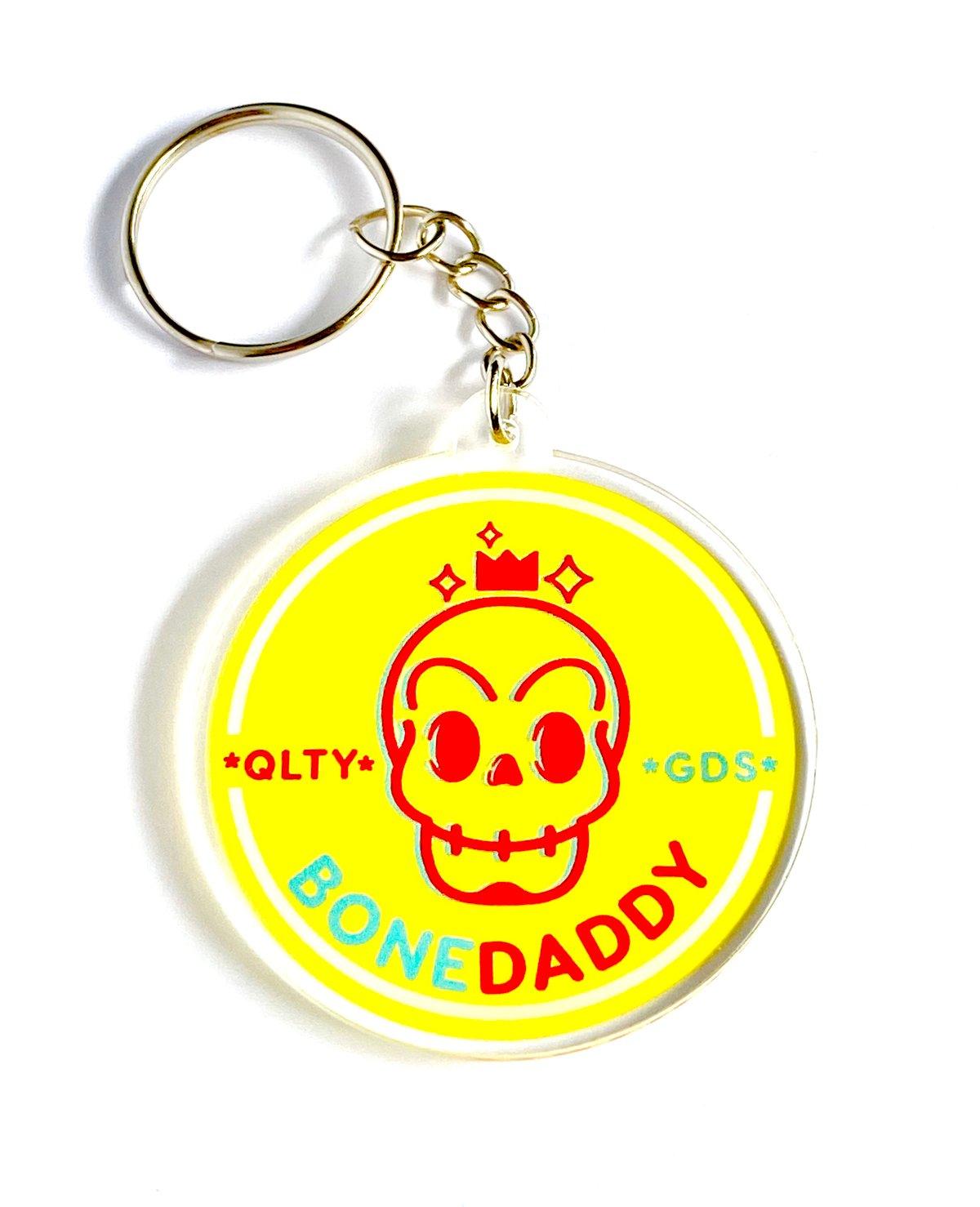 Image of Bonedaddy acrylic keychain
