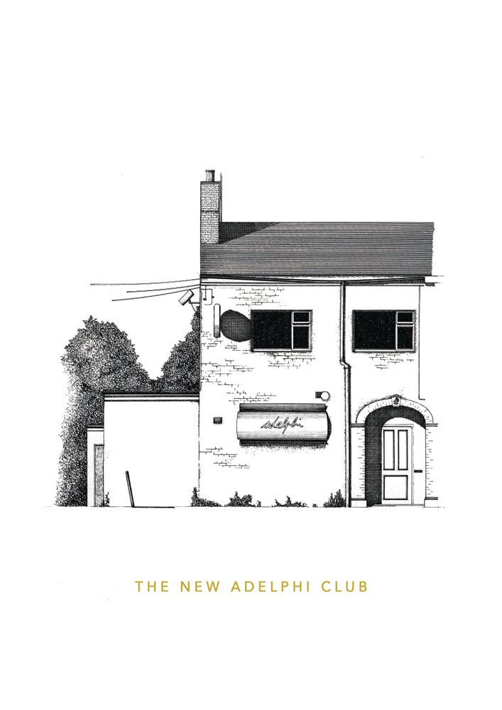 Image of The New Adelphi Club. Hull.