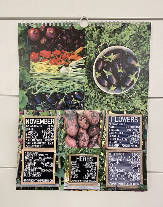 Image of Perpetual Planting and Harvest Calendar for the Low Desert of Arizona