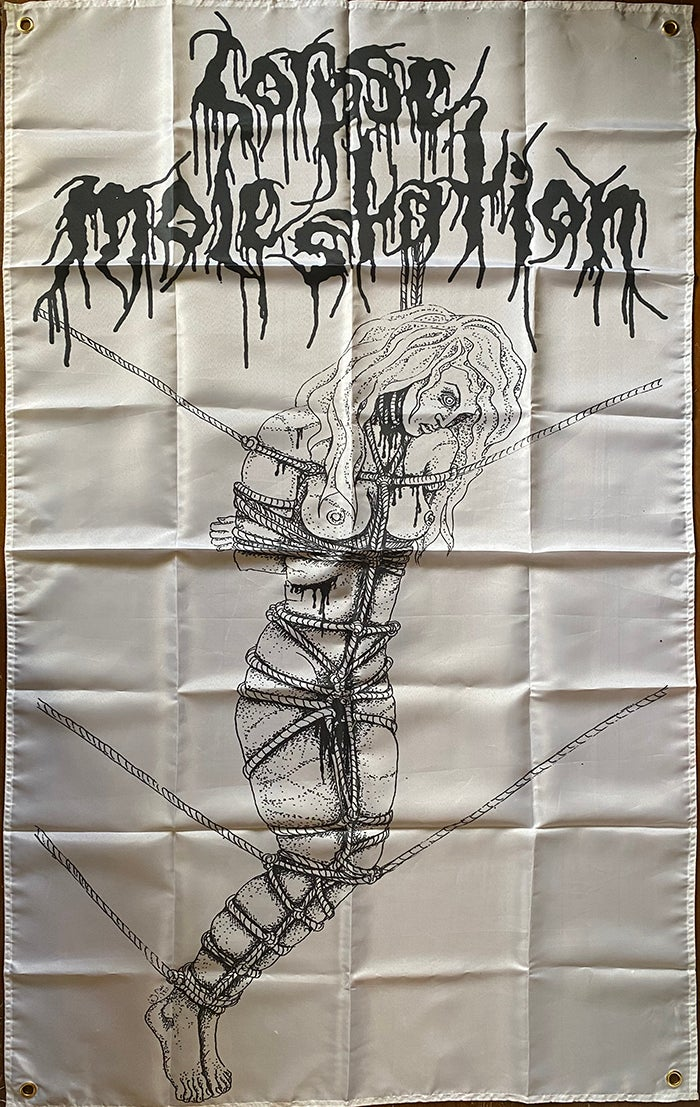 Image of Corpse Molestation - Flag /  Banner / Tapestry