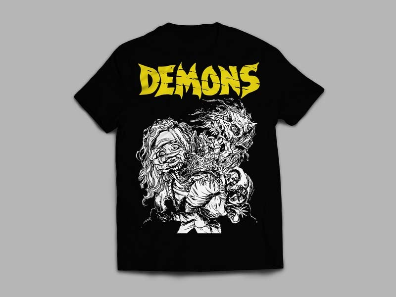 DEMONS with new logo
