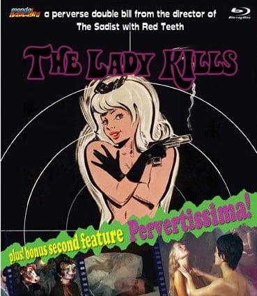 Image of THE LADY KILLS/PERVERTISSIMA - retail edition
