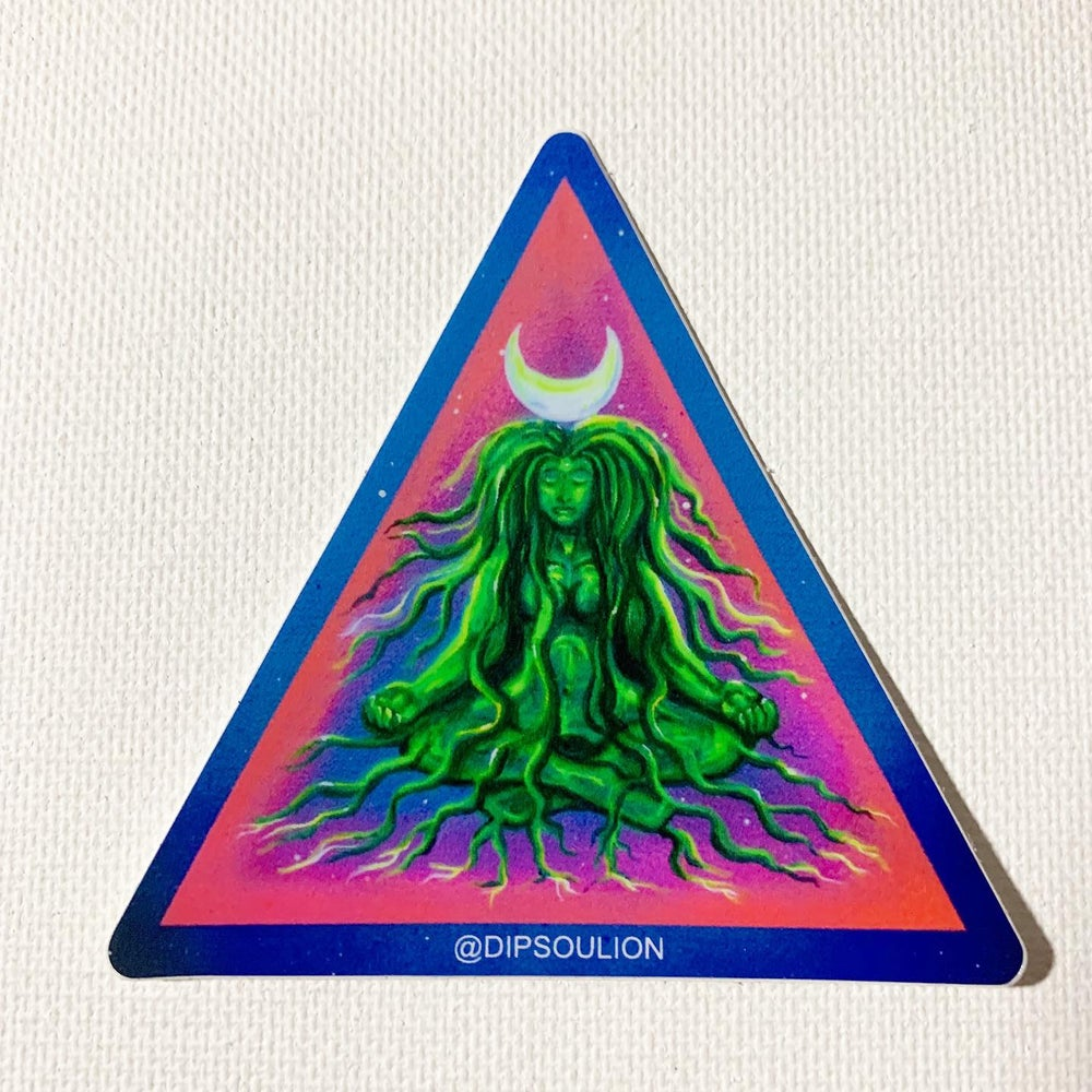 Image of Earth Goddess sticker