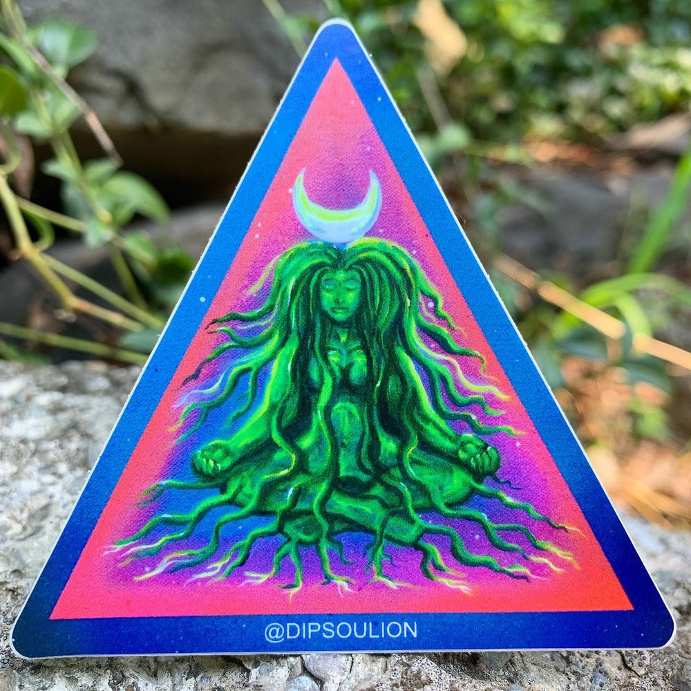 Image of Earth Goddess sticker