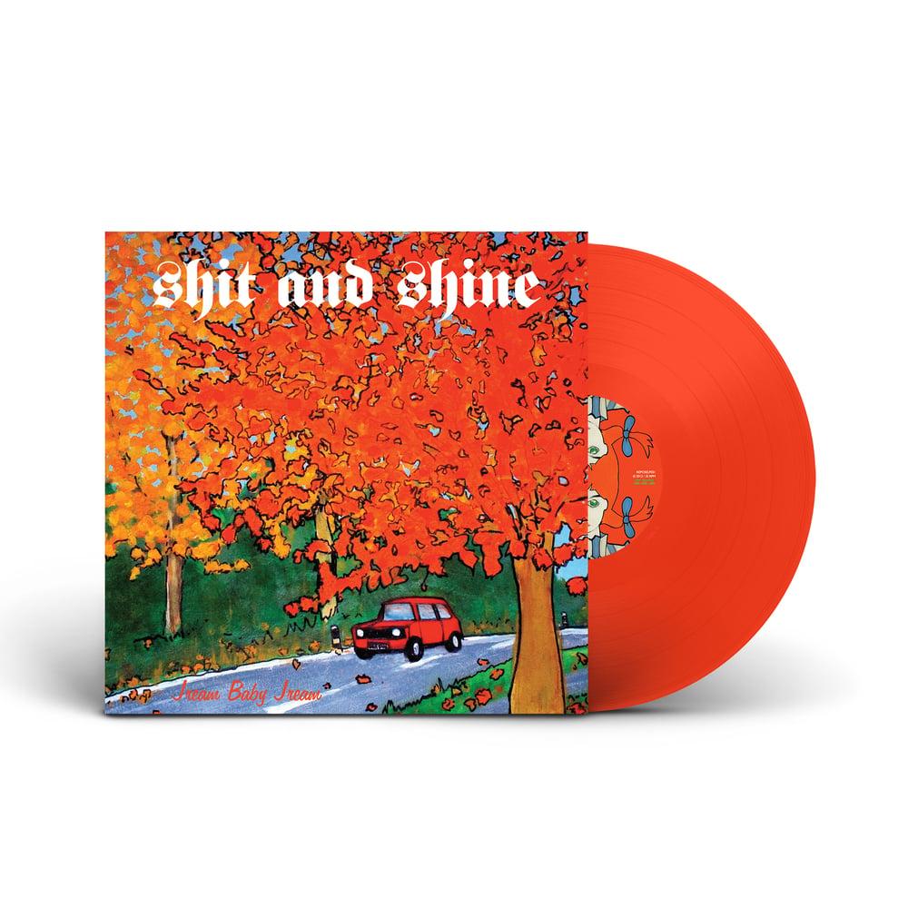 SHIT AND SHINE 'Jream Baby Jream' Orange Vinyl LP