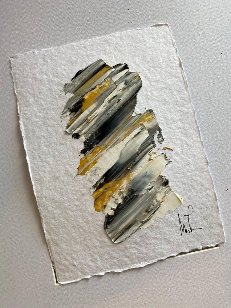 Image of ML • Art 5x7 Handmade Cotton Rag Paper 1b