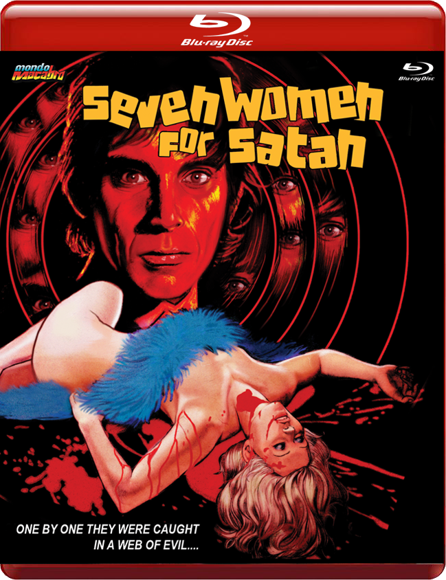 Image of SEVEN WOMEN FOR SATAN - Limited 'Red Case' Edition
