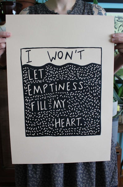 Image of Emptiness Print