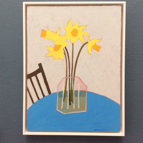 Image of Daffodils at the Cafe