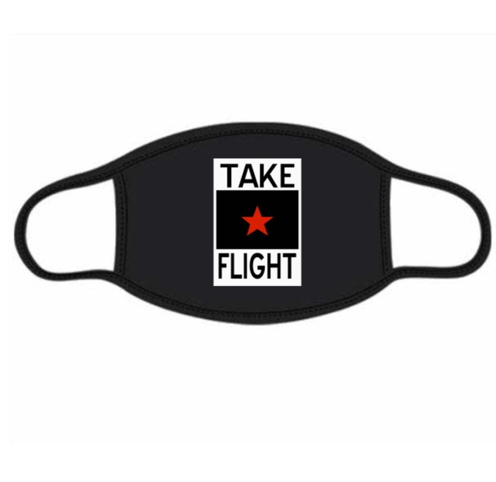Image of Take Flight Logo Mask