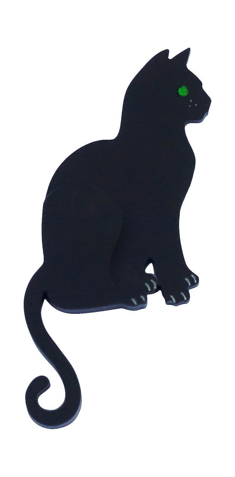 Image of Cat Silhouette Brooch