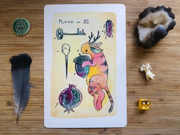 Image of Rainbow Bunmous Print