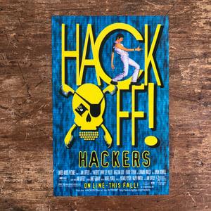Image of Hackers Print Advertisement