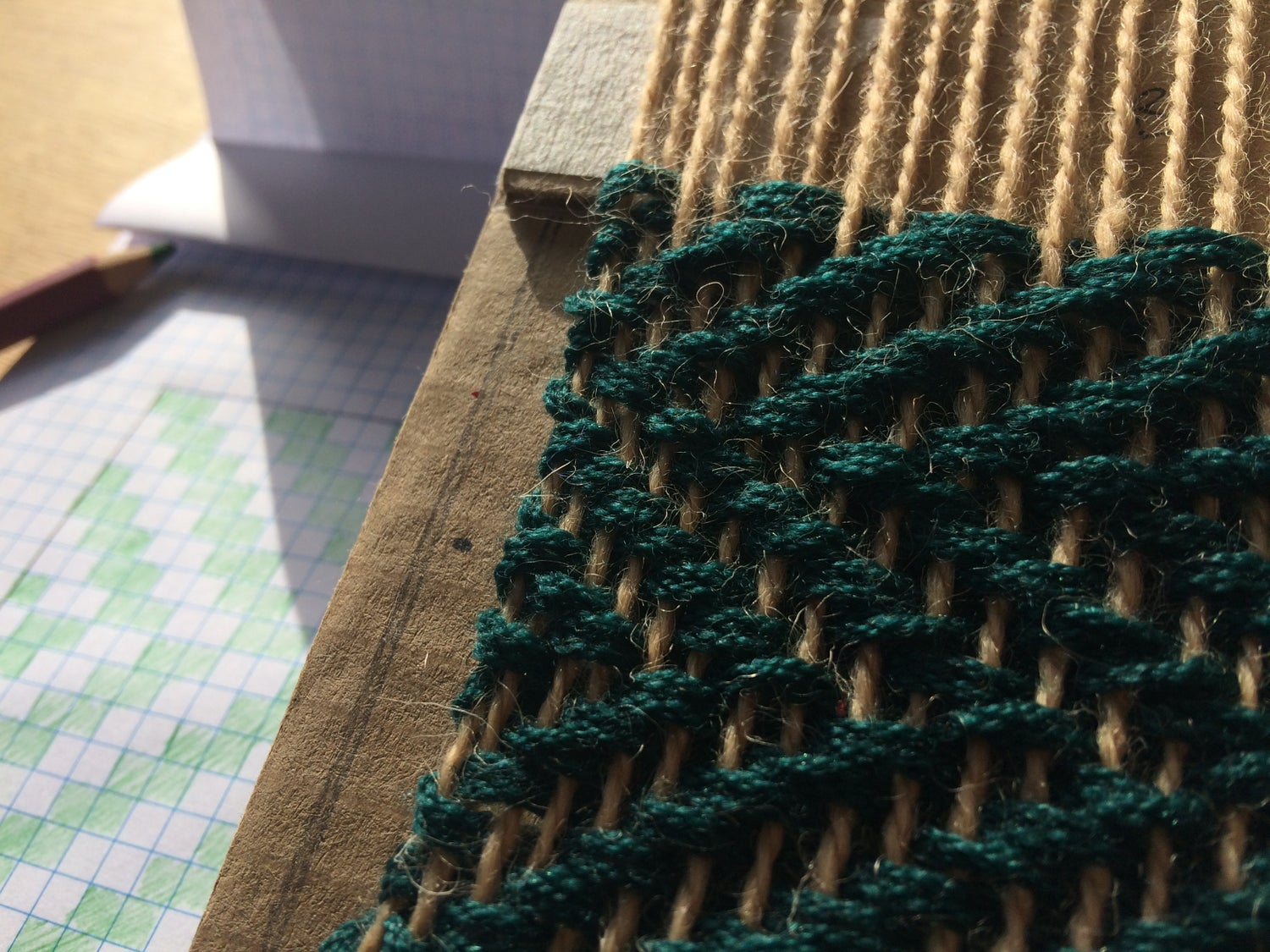 Image of Workshop 2: Weave a Twill Pattern