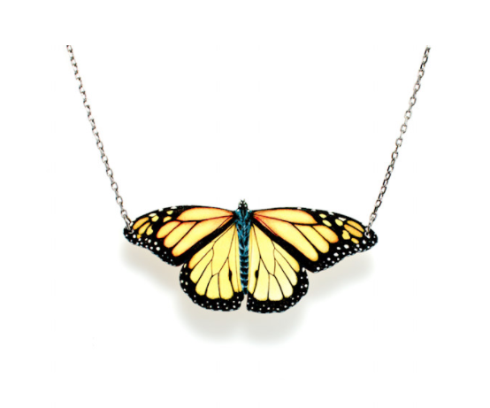 Image of Monarch Butterfly Necklace