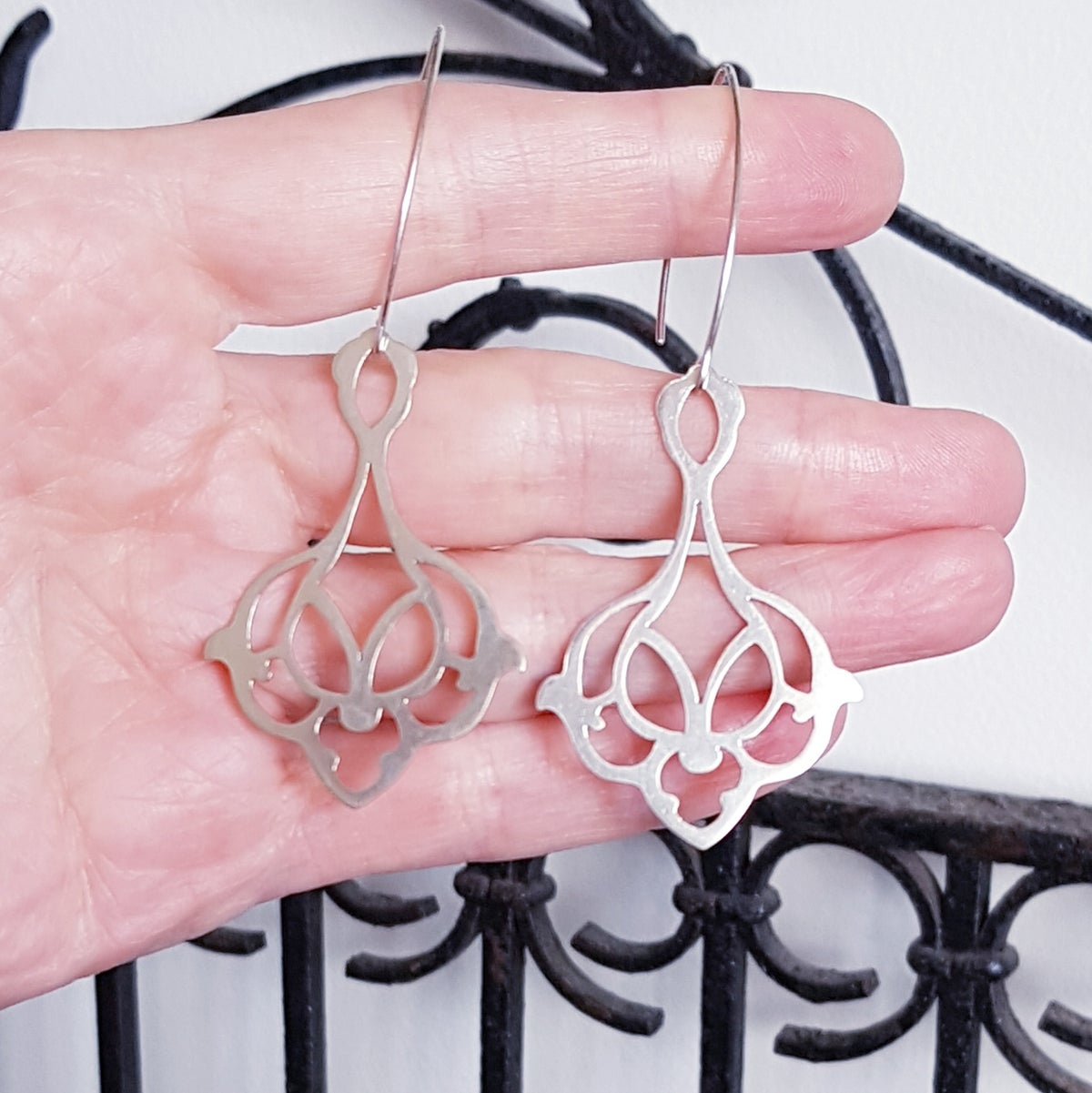 Image of Ishtar Earrings in Two Variations