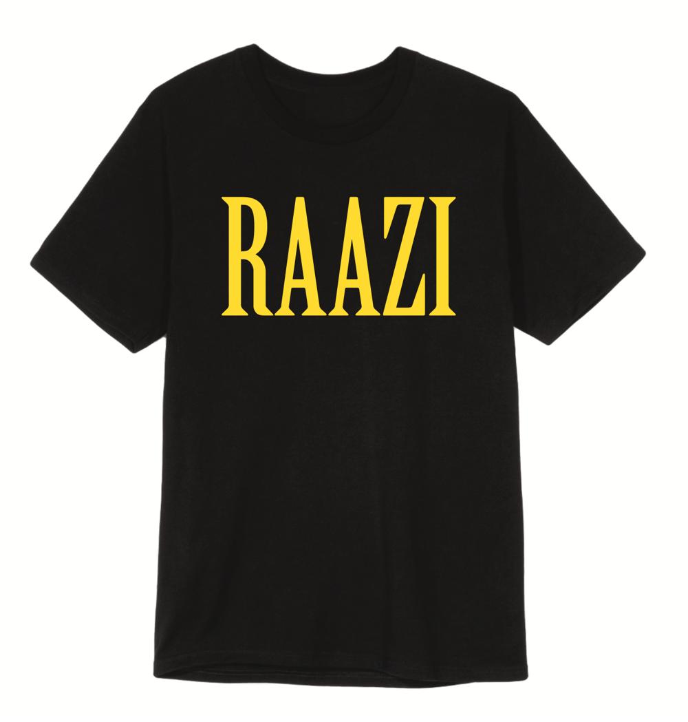 Image of RAAZI T- SHIRT - LAST ONE