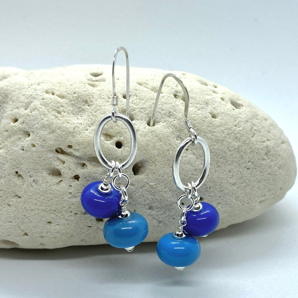Image of Sky Double Earrings