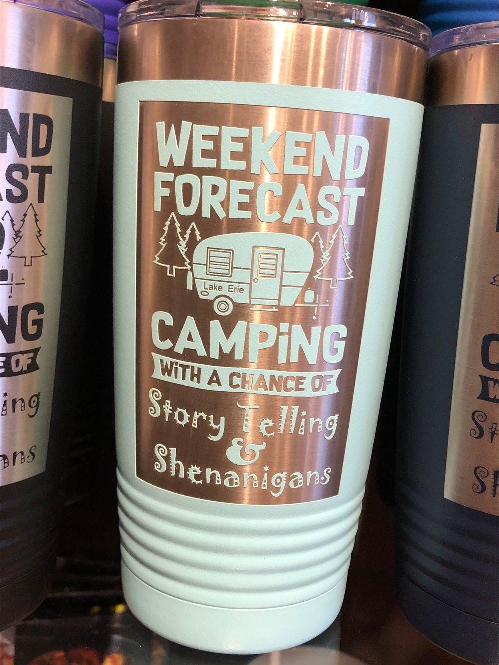 Image of Weekend Forecast - Camper
