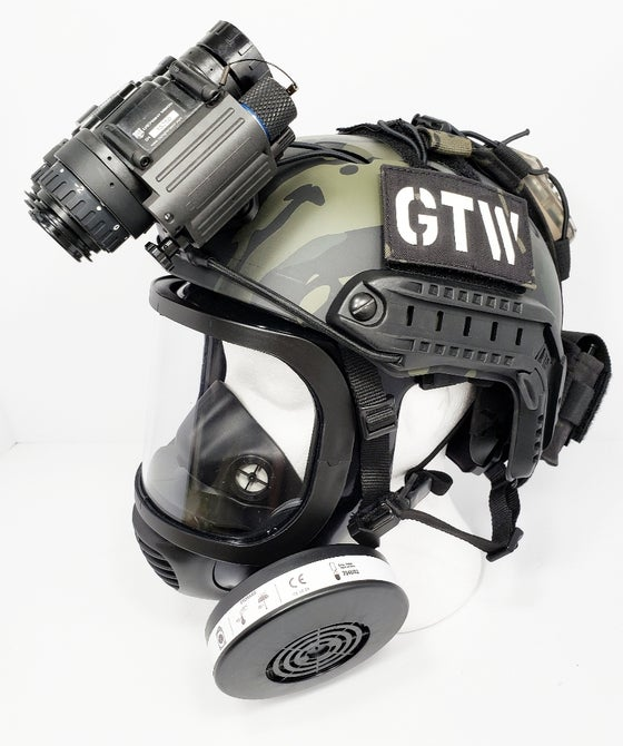 Image of GTW Laser Cut Multicam Black, glow-in-the-dark