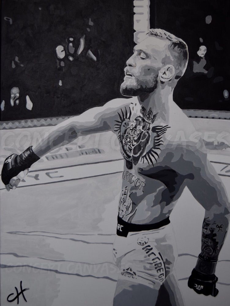 Image of Conor McGregor 'Swag' Hand Painted Original