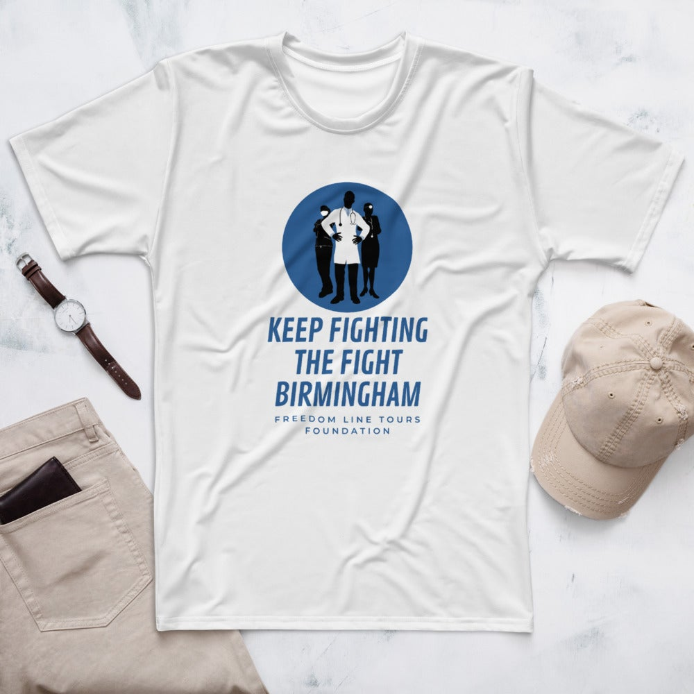 Image of Keep Fighting The Fight Birmingham Tshirt